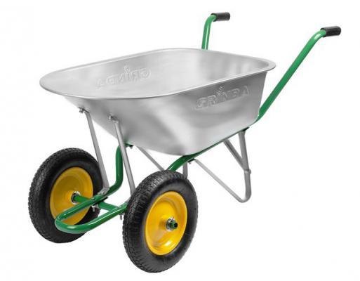 где купить Тачка Grinda садово-строительная 90л 422397 дешево