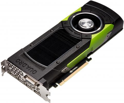 Видеокарта 12288Mb PNY Quadro M6000 PCI-E DVI 4xDP VCQM6000-PB Retail