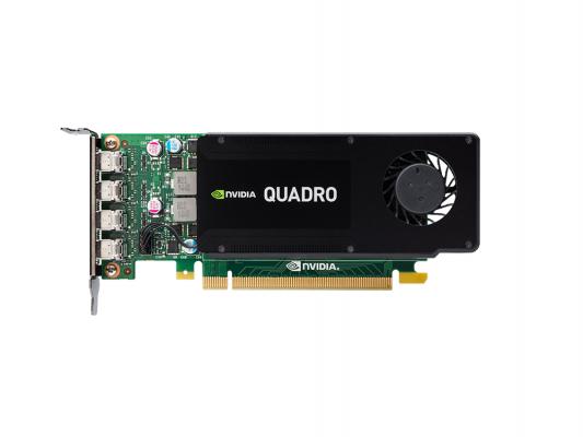Видеокарта PNY Quadro K1200 NVIDIA Quadro K1200 (VCQK1200DP-PB) PCI-E 4096Mb 128 Bit Retail pci e to