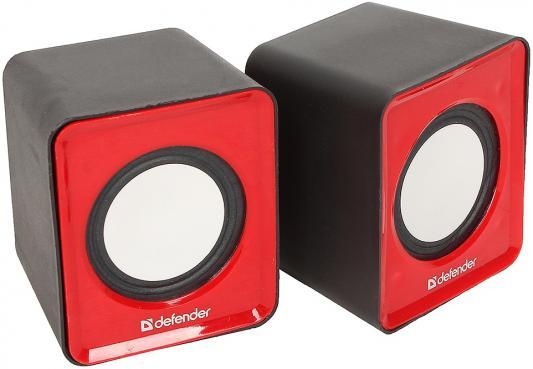 Колонки DEFENDER SPK 22 2x2.5Вт красный 65502 колонки defender spk 22 2x2 5вт черный 65503