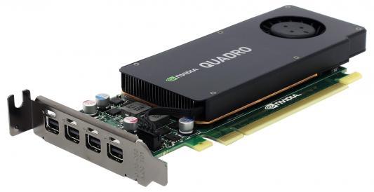 Видеокарта 4096Mb PNY Quadro K1200 PCI-E 4xminiDP DVI VCQK1200DVIBLK-1 VCQK1200-T OEM