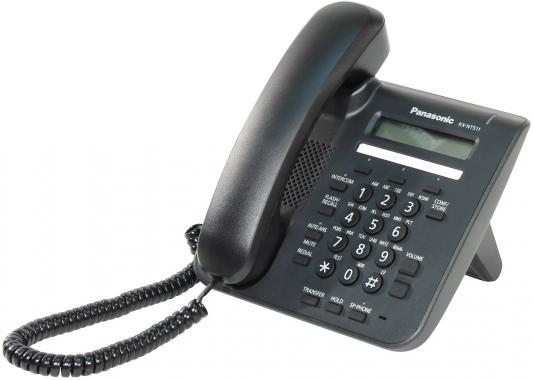 Телефон IP Panasonic KX-NT511ARUB черный