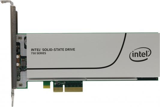 SSD Твердотельный накопитель PCI-E 800Gb Intel 750 Read 2200Mb/s Write 900Mb/s SSDPEDMW800G4X1 944776