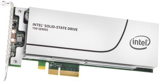 SSD Твердотельный накопитель PCI-E 800Gb Intel 750 Read 2200Mb/s Write 900Mb/s SSDPEDMW800G4X1 944776 от 123.ru
