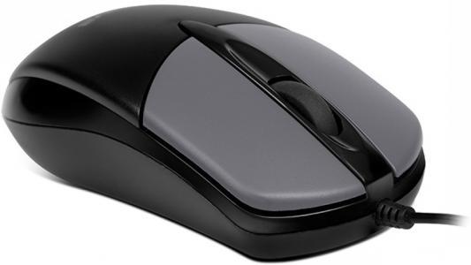 Мышь проводная Sven RX-112 серый USB