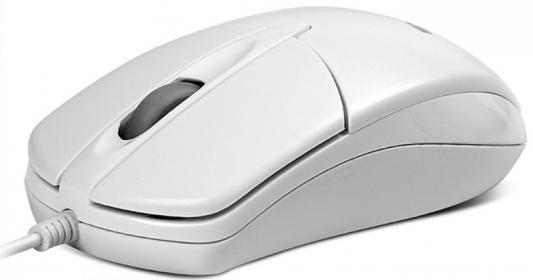 Мышь проводная Sven RX-112 белый USB