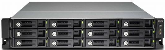 """Сетевое хранилище QNAP TVS-1271U-RP-i7-32G i7-4790S 3.2ГГц 12x3.5/2.5""""HDD hot swap"""
