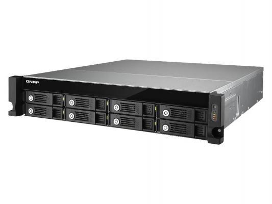 Сетевое хранилище QNAP TVS-871U-RP-i5-8G i5- 4590S 3.0ГГц 8xHDD hot swap