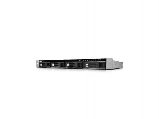 "Сетевое хранилище QNAP TS-451U-1G Celeron 2.41ГГц 4x2.5""/3.5""HDD hot swap 5xUSB 1xHDMI"