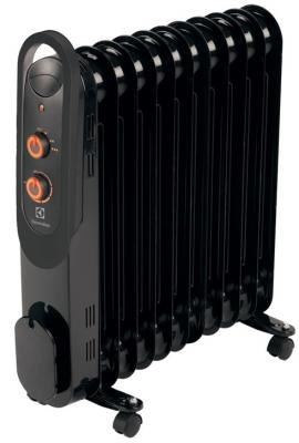 Масляный радиатор Electrolux EOH/M-4209 2000 Вт ручка для переноски чёрный масляный радиатор eoh m 4209 9 секций 2000 вт electrolux