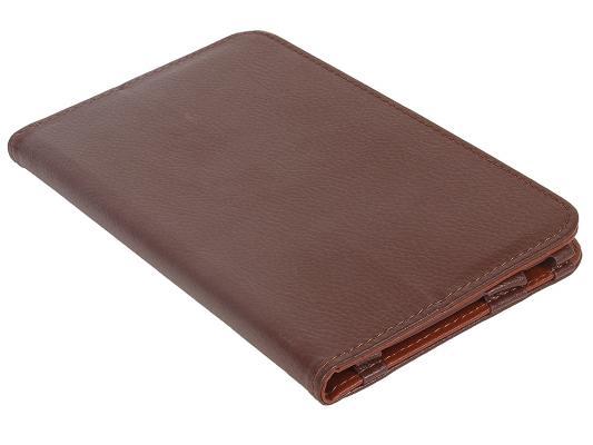 Чехол IT BAGGAGE для планшета LENOVO Idea Tab 2 A7-30 hard case  коричневый ITLNA7302-2