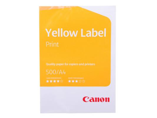 Бумага Canon Yellow Label A4 80г/м2 5*500л 6821B001 бумага a4 xerox perfect print plus 80г м 500л