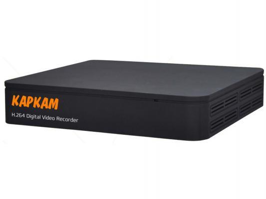 Видеорегистратор сетевой КАРКАМ 1204N 1920x1080 4Тб HDMI VGA BNC до 4 каналов гибридный