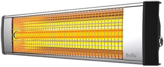 Инфракрасный обогреватель BALLU BIH-L-3.0 3000 Вт серебристый чёрный инфракрасный обогреватель ballu bih l 3 0 3000 вт серебристый чёрный
