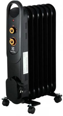 Масляный радиатор Electrolux EOH/M-4157 1500 Вт ручка для переноски чёрный масляный радиатор eoh m 3157 7 секций 1500 вт electrolux