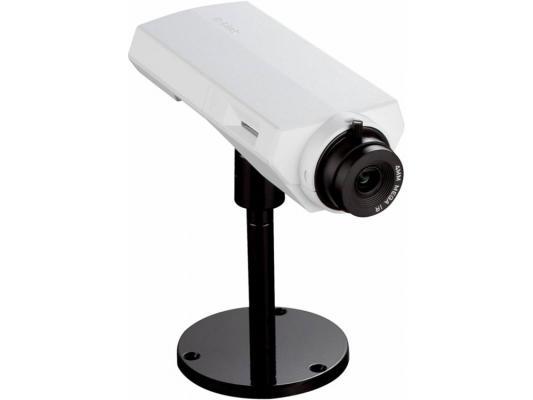 "Камера IP D-Link DCS-3010/A2A CMOS 1/4"" 1280 x 800 H.264 MJPEG MPEG-4 RJ-45 LAN PoE белый"