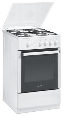 Газовая плита Gorenje G51106AW белый