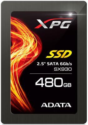 "SSD Твердотельный накопитель 2.5"" 480GB A-Data SX930 Read 540Mb/s Write 420Mb/s SATAIII ASX930SS3-480GM-C"