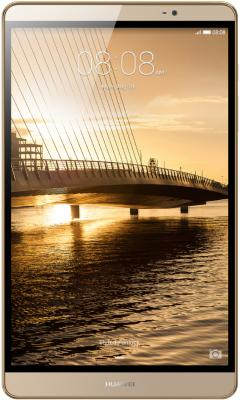 "Планшет Huawei MediaPad M2 8.0 LTE 8"" 32Gb золотистый Bluetooth Wi-Fi 3G 4G LTE Android M2-801L"