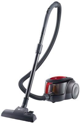 Пылесос LG V-K705W06N без мешка сухая уборка 2000Вт черно-красный