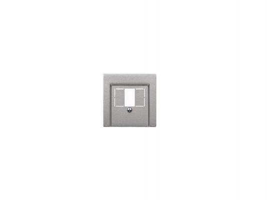 Накладка для аудиорозетки алюминий Schneider Electric MTN297960