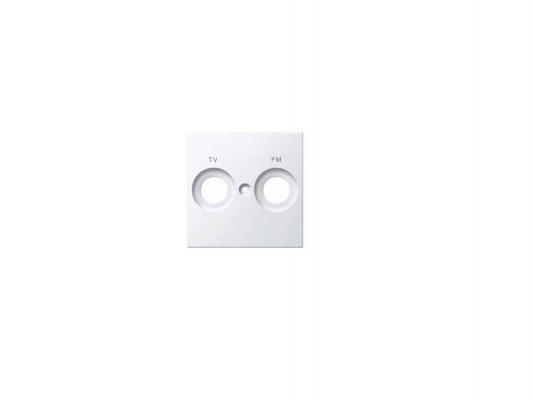 Накладка для розетки TV/FM белый Schneider Electric MTN299919