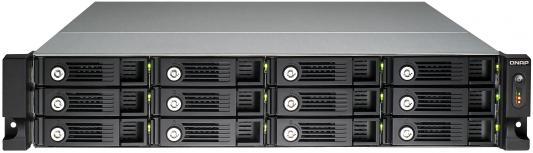 "Сетевое хранилище QNAP TS-1253U-RP Celeron 2ГГц 12x2.5""HDD"