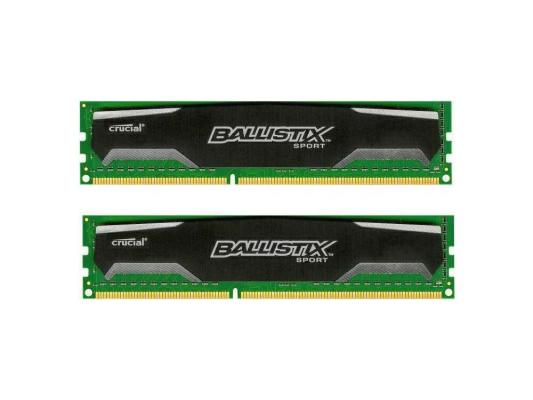 Оперативная память 8Gb (2x4Gb) PC3-12800 1600MHz DDR3 DIMM Crucial BLS2C4G3D169DS1J
