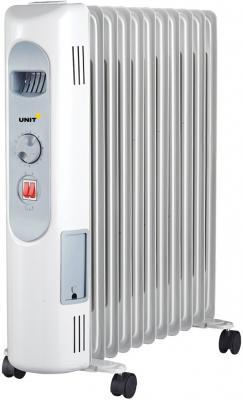 Масляный радиатор Unit UOR-123 2500 Вт белый