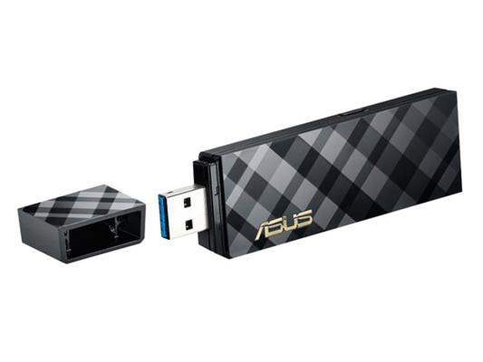 Беспроводной USB адаптер ASUS USB-AC55 802.11ac 867Mbps 2.4/5ГГц