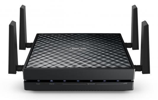 Точка доступа ASUS EA-AC87 802.11aс 1734Mbps 5 ГГц 5xLAN черный беспроводная точка доступа asus ea ac87 802 11ac 1734mbps 5ггц
