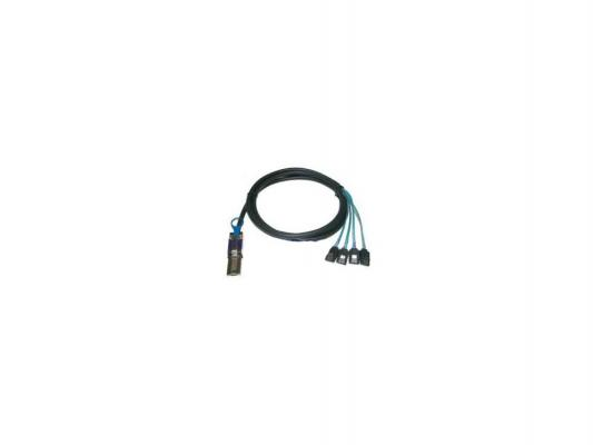 Кабель интерфейсный SAS SFF8088 - 4хSATA прямой 1м MSCB887P4C-1M