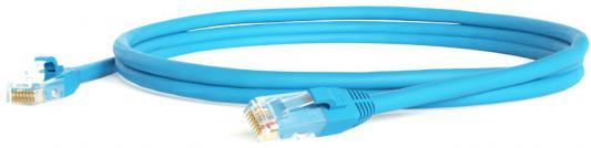 Патч-корд UTP 6 категории 0.5м Hyperline PC-LPM-UTP-RJ45-RJ45-C6-0.5M-LSZH-BL синий
