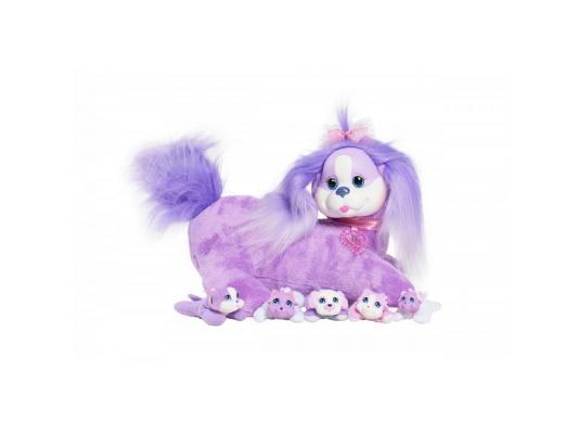 Интерактивная игрушка Just Play Собачка Кэнди и ее щенки от 3 лет для девочки 42108 мягкие игрушки just play собачка кэнди и ее щенки