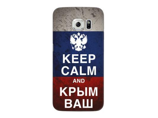 Чехол Deppa Art Case и защитная пленка для Samsung Galaxy S6 edge, Патриот_Крым ваш, цена