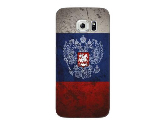 Чехол Deppa Art Case и защитная пленка для Samsung Galaxy S6 edge, Патриот_Флаг, цена