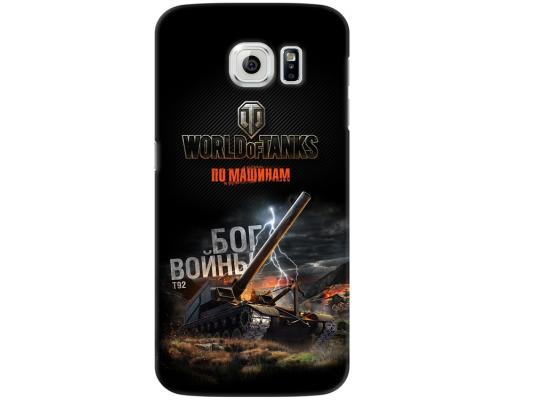 Чехол Deppa Art Case и защитная пленка для Samsung Galaxy S6, Танки_Бог войны, чехол deppa art case и защитная пленка для samsung galaxy s6 edge танки арту не видали