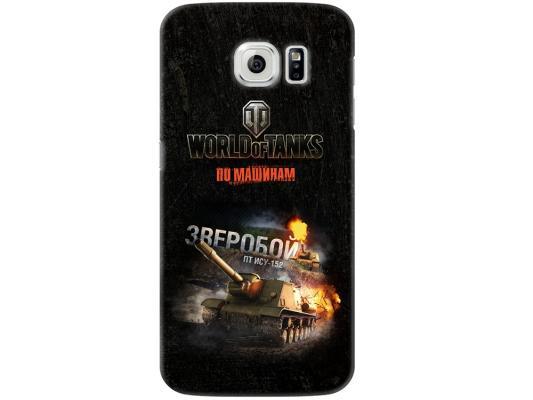 Чехол Deppa Art Case и защитная пленка для Samsung Galaxy S6, Танки_Зверобой, чехол deppa art case и защитная пленка для samsung galaxy s6 edge танки арту не видали