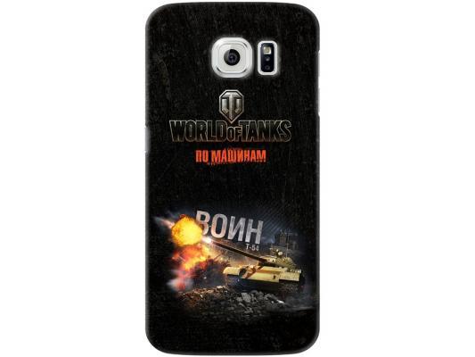 Чехол Deppa Art Case и защитная пленка для Samsung Galaxy S6, Танки_Воин,