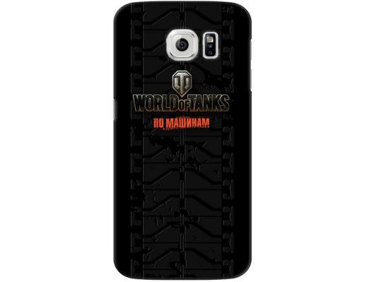 Чехол Deppa Art Case и защитная пленка для Samsung Galaxy S6, Танки_Протектор, пленка