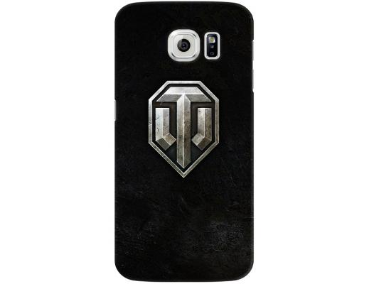 Чехол Deppa Art Case и защитная пленка для Samsung Galaxy S6, Танки_Эмблема, чехол deppa art case и защитная пленка для samsung galaxy s6 танки воин