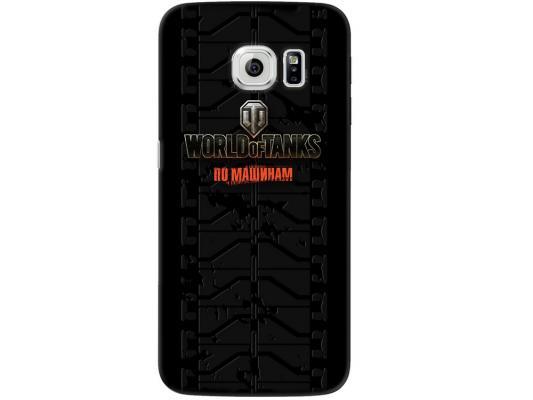 Чехол Deppa Art Case и защитная пленка для Samsung Galaxy S6 edge, Танки_Протектор, чехол deppa air case для samsung galaxy s6 edge красный 83187