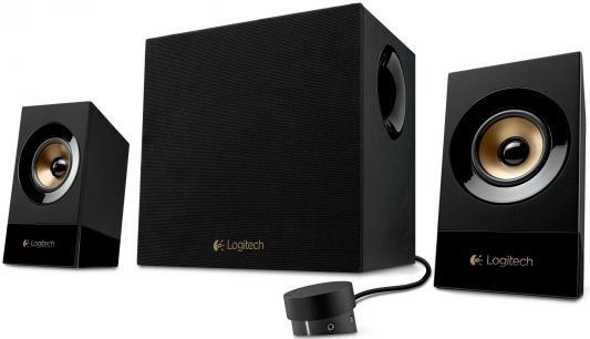 Колонки Logitech Z-533 60 Вт черный 980-001054 цена и фото