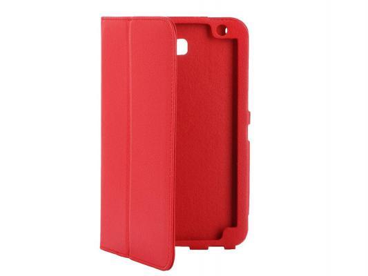 """Чехол IT BAGGAGE для планшета Huawei Media Pad T1 7"""" искусственная кожа красный ITHWT1702-2"""