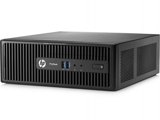 Системный блок HP ProDesk 400 i3-4170 3.7GHz 4Gb 1Tb HD4400 DVD-RW Win7Pro Win8.1Pro клавиатура мышь черный M3X10EA