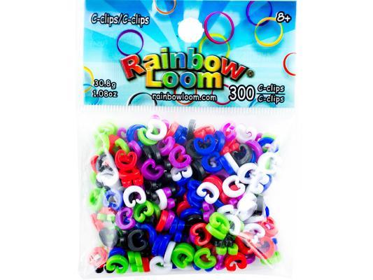 С-клипсы для плетения Rainbow Loom 2127 от 8 лет 300 шт с клипсы для плетения rainbow loom 2127 300 шт