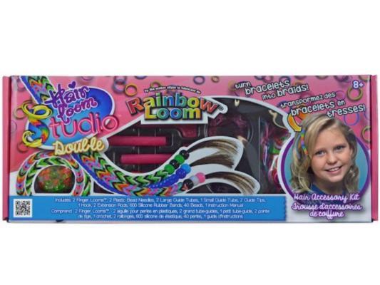 Набор для плетения Rainbow Loom украшений для волос Хэа Лум Студио от 8 лет R0053B набор для творчества rainbow loom набор д плетения украшений для волос хэа лум дабл