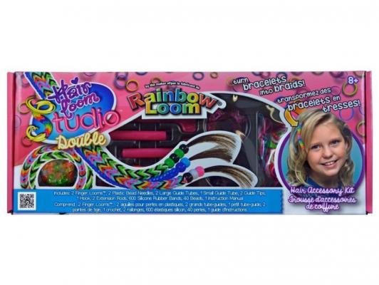 Набор для плетения Rainbow Loom Хэа Лум Дабл от 8 лет R0054B набор для творчества rainbow loom набор д плетения украшений для волос хэа лум дабл