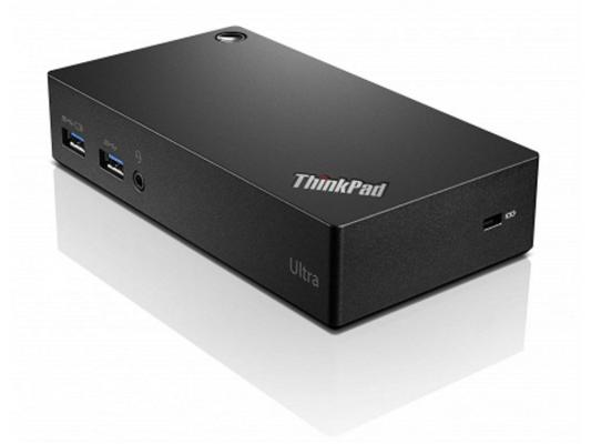 Док-станция Lenovo ThinkPad USB 3.0 Ultra Dock 40A80045EU док станция lenovo thinkpad ultra dock 90w 40a20090eu for new thinkpad t440 t540 x240