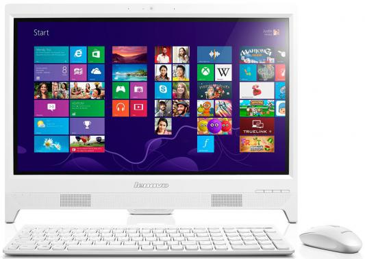 "Моноблок 20"" Lenovo IdeaCentre C260 1600 x 900 Intel Celeron-J1800 4Gb 500Gb Intel HD Graphics 64 Мб Без ОС белый 57331763"